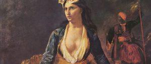 Delacroix-Greece Expiring on the Ruins of Missolonghi (1827)_960x360